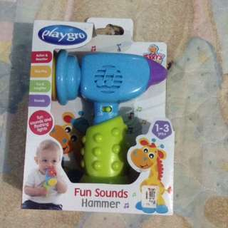 Playgro fun sounds hammer