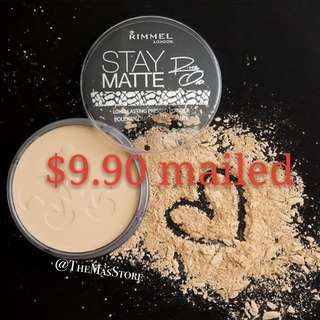 ❤️$9.90 MAILED❤️ - Rimmel Pressed Powder - Imperfections