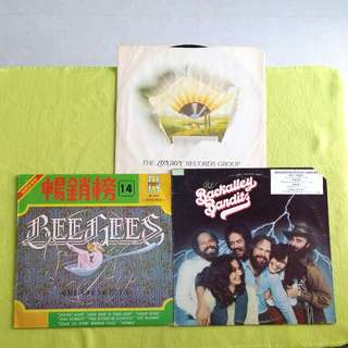 2LP. BEE GEES / BACKALLEY BANDITS. greatest hits/ - ( 2 album for the price of 1) Vinyl record