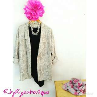 Set Blazer Top ⚡Flash Sale R.byRizkaboutique⚡