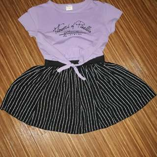 Dress lucu size 10