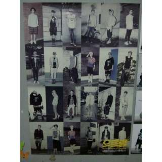 ORI Poster EXO Growl Album