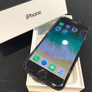 消光黑iPhone7 128G 盒裝附原廠充電頭 充電線 耳機轉接線(高雄鳳山可面交)
