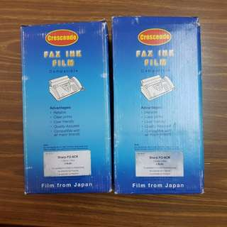 Fax ink film