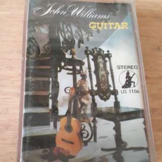 John Williams Guitar Cassette
