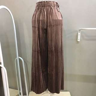 [2forRM60] NEW Velvet Pleated Palazo