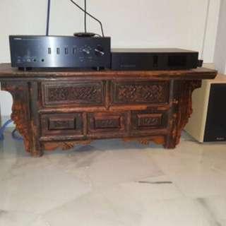 Antique console