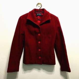 🚚 專櫃品牌nonstop毛料排釦外套