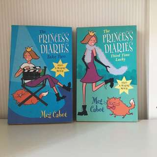 The Princess Diaries Take Two + Third Time Lucky (by Meg Cabot)