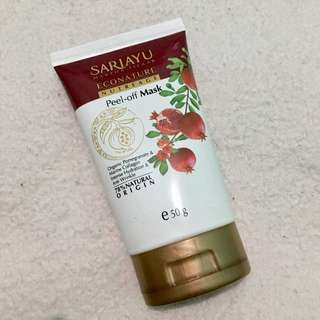 Sariayu econature nutreage peel of mask