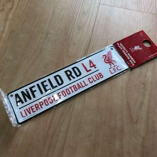 Liverpool hanging sign