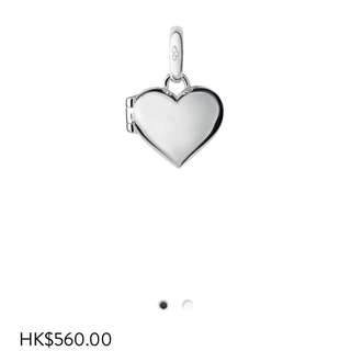 Links of London Sweetie 心形開口charm
