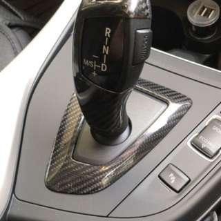 F20 LCI BMW carbon fibre gear knob