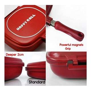 Happycall Double Pan Teflon Korea Happy Call Panci Anti Lengket 32Cm