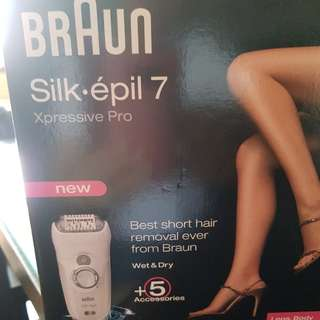 Braun wet & dry Hair Removal