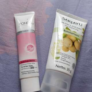 Mosturizer Putih Langsat + FREE Mosturizing Night Cream