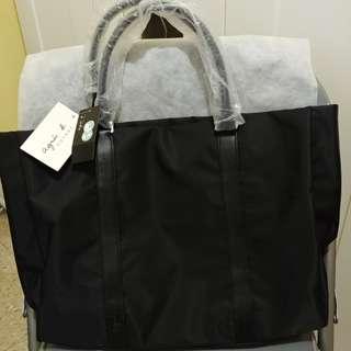Agnes b canvas handbag