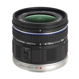 OLYMPUS 261503 Zuiko Digital 18–36mm f/4.0–5.6 ED Lens