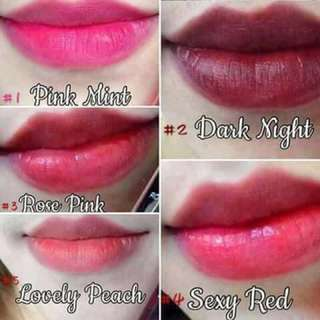 Available Lip&Cheek Tint Colors