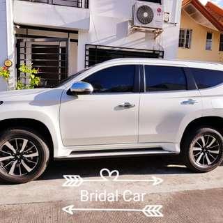 Bridal Car rental Montero Sports