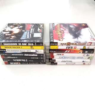 14 PS3 Games $60
