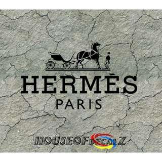 "Custom ""Hermes"" Diecut Vinyl Decal No Background"