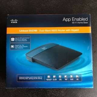 Linksys EA2700 dual band N600 router