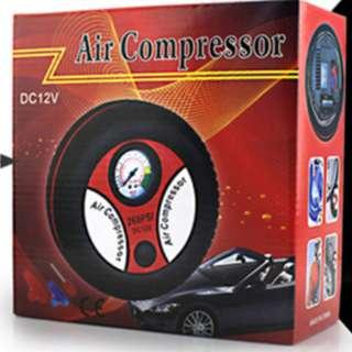 汽車用便攜式高壓電動單缸12V轎車輪胎沖氣應急打氣