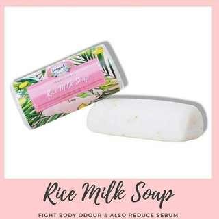 Rice milk soap TEMYRACLE