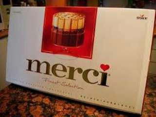 Merci 朱古力 送禮 gift 新年 newyear chocolate