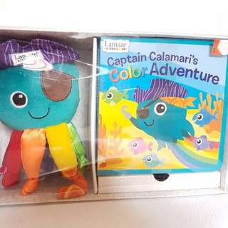 Lamaze Captain Calamari color adventure