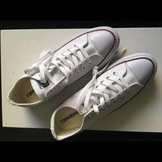 Converse's white