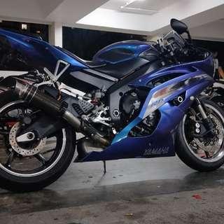 Yamaha R6 09