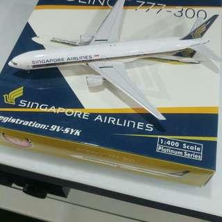 9V-SYK 1:400 Singapore Airlines B777-300