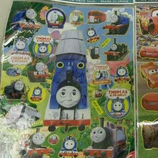 Thomas /反斗車王貼紙Sticker$8@1