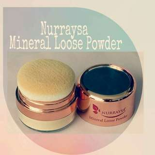 Mineral Loose Powder for Hijab Muslimah