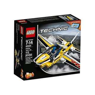 LEGO Technic 2 in 1 Display Team Jet 42044 Building Toy 113pcs
