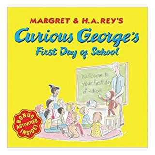 BRAND NEW Book Curious George's First Day of School BY H. A. Rey and Margret Paperback