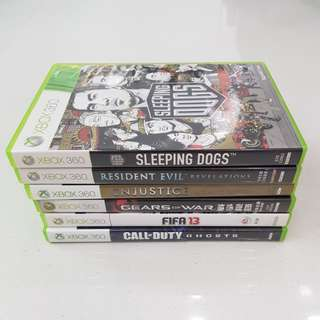 6 Xbox 360 Games for $40