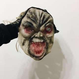 萬聖節 裝扮節慶活動裝扮面具🎭 巫婆面具 妖魔鬼怪面具 整人面具