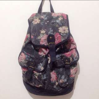 SALE! Flower Backpack by New Look