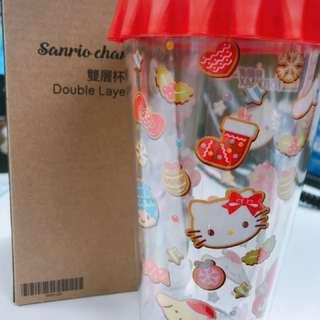 Sanrio 雙層水杯