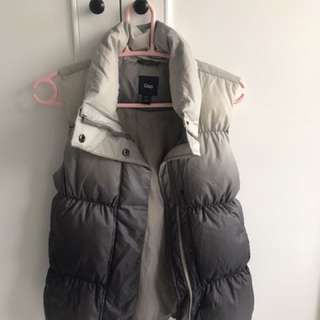 Japan limited edition Warm Gap winter vest in down