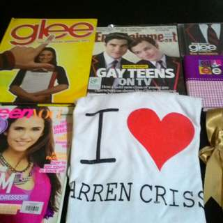 Assorted Glee items