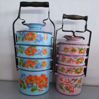 Enamel tiffin carrier