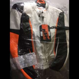KTM Powerwear RSX Leather Racing Jacket