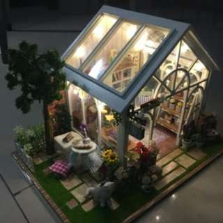 DIY小屋 花鋪小屋
