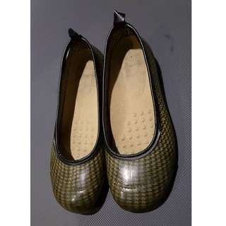 千鳥格娃娃鞋 35號