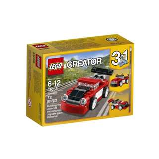 LEGO Creator Red Racer 31055 Building Kit Car Toy 72pcs