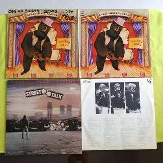 2LP. BUDDY MILES EXPRESS/ BOB CREWE GENERATION. booger bear/ street talk. (2 album for the price of 1) Vinyl record